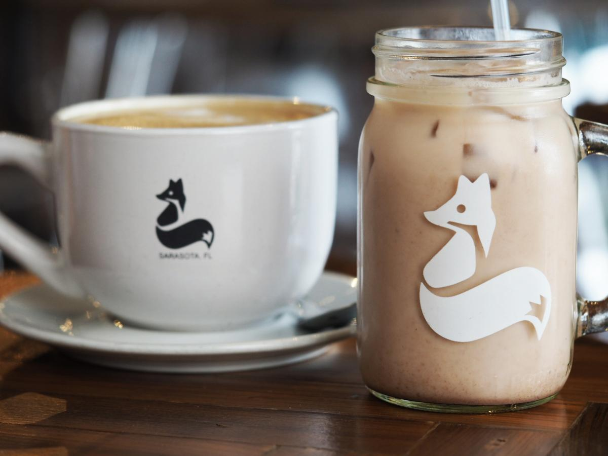 clever cup coffee drinks in sarasota florida