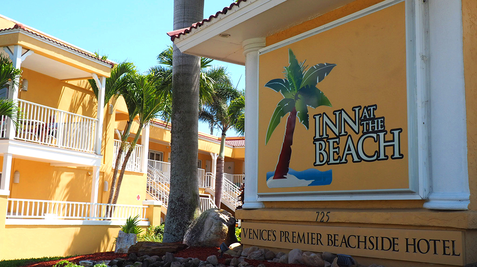 Inn at the Beach is a short walk from the beach or other popular island stops (Photo: Lauren Jackson)