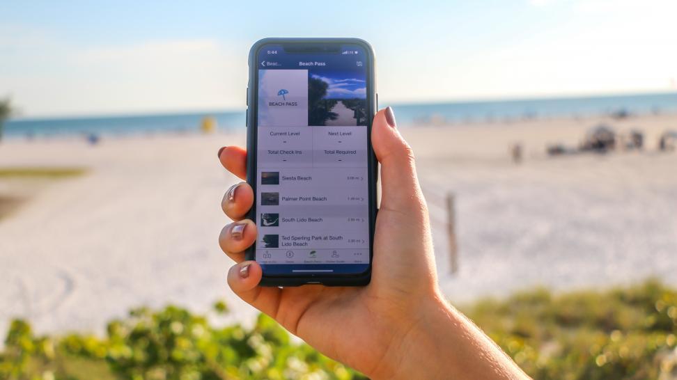 Sarasota Beach Pass app