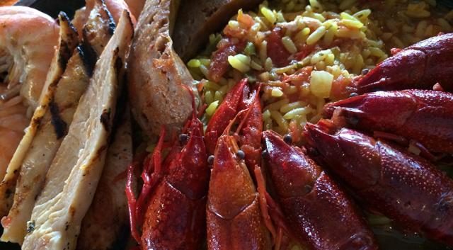 Gulf Bay Paella at Siesta Key Oyster Bar