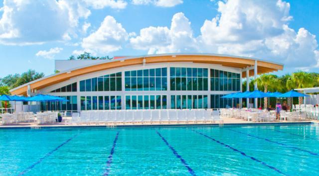 outdoor and indoor pool