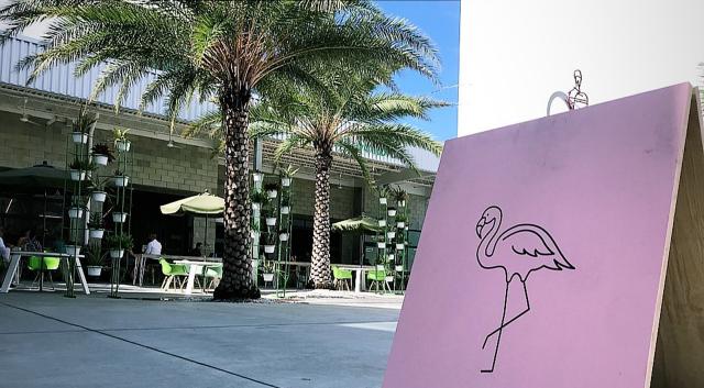 exterior of the overton restaurant in sarasota florida