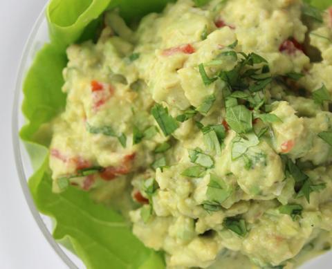 Florida Guacamole Avocados, other ingredients. Photo credit: Nicole Coudal