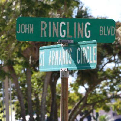 Ringling Blvd Street Sign