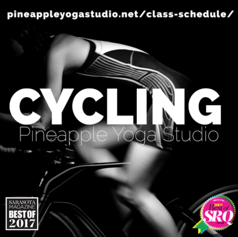 $5 off a Class Pack of 5 Classes at Pineapple Yoga + Cycling