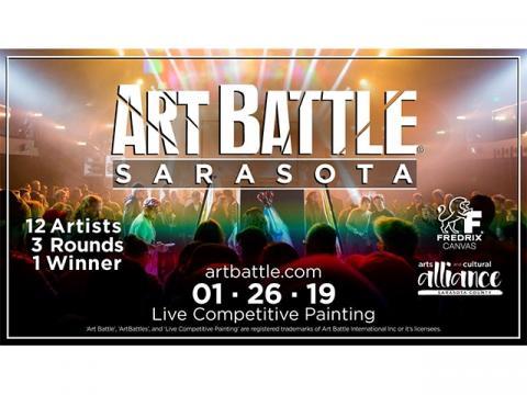 Art Battle Sarasota - January 26, 2019