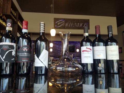 Wines on special