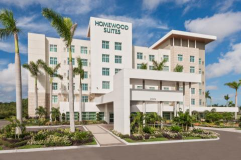 Exterior HMS - Homewood Suites Exterior in Lakewood Ranch, Sarasota, Florida