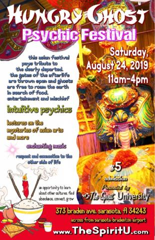 Hungry Ghost Festival and Psychic Fair | Visit Sarasota