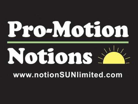 Pro-Motion Notions Logo