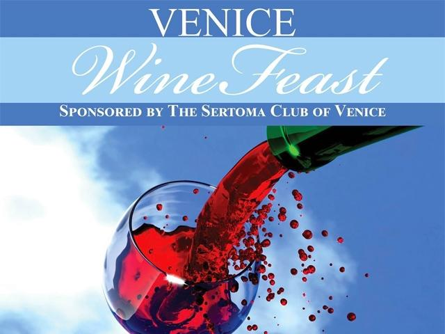 15th Annual Sertoma Downtown Venice WineFeast - save the date