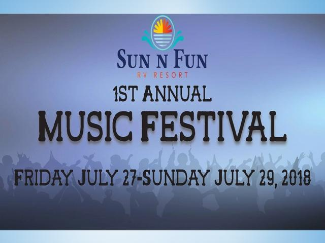 1ST Annual Sun N Fun Music Festival