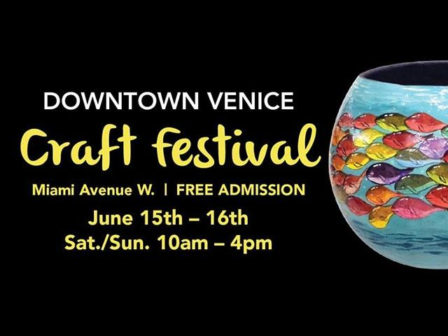 27th Annual Downtown Venice Craft Festival