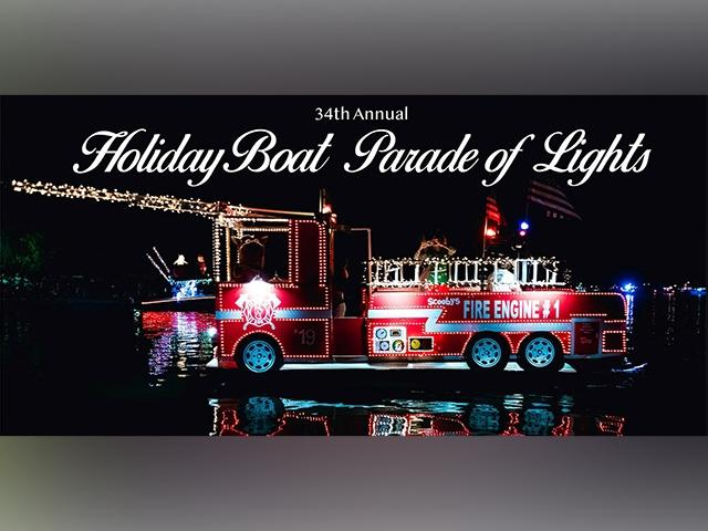 34th Annual Holiday Boat Parade of Lights