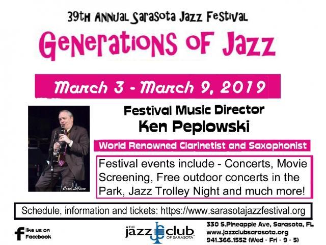 39th Annual Sarasota Jazz Festival
