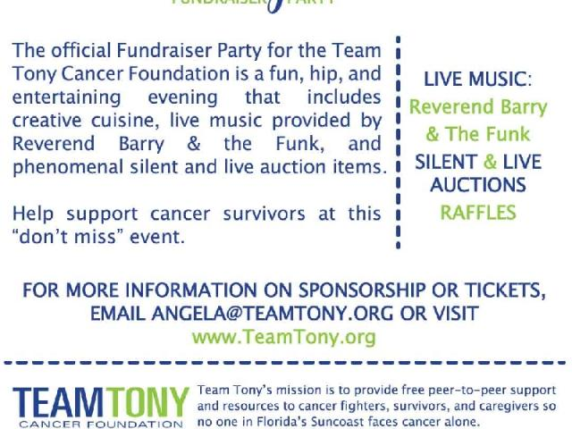 3rd Annual Jackets and Jeans benefiting Team Tony Cancer Foundation