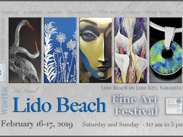 3rd Annual Lido Beach Winter Fine Art Festival