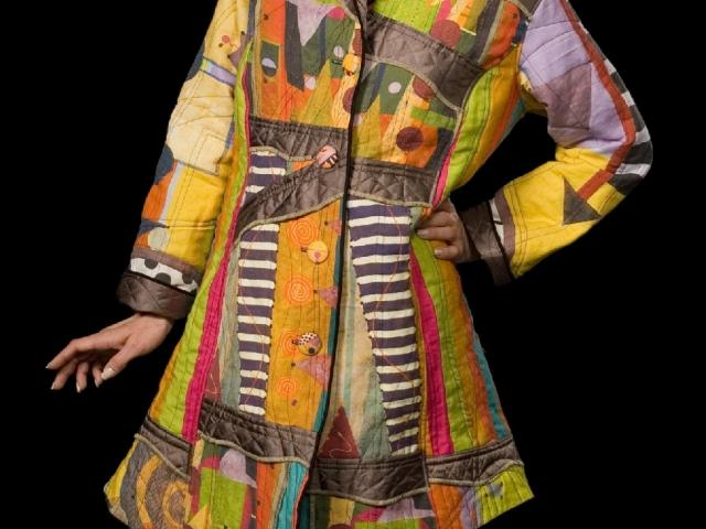 Coat by fiber artist Robert Stadnycki