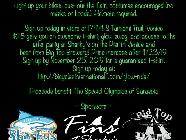 5th Annual Glow Ride & Celebration