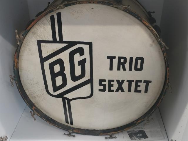 Benny Goodman's bass drum.