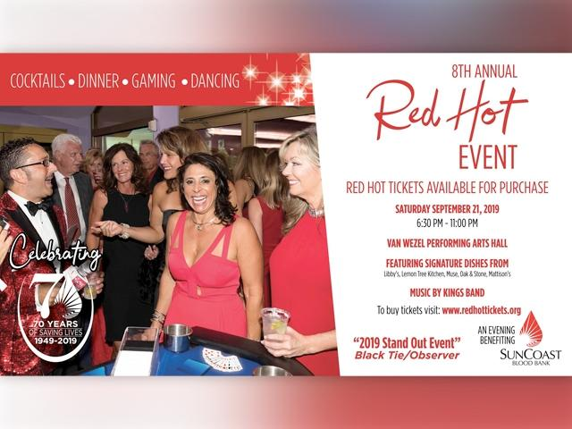 8th Annual Red Hot Event