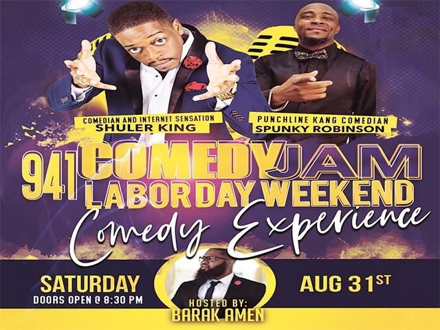 941 Comedy Jam Labor Day Weekend Comedy Experience