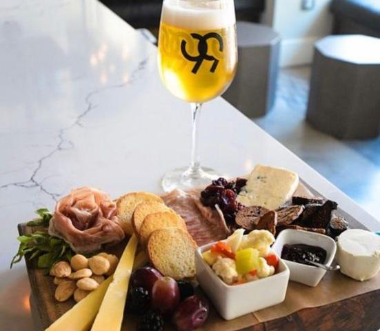 99 Bottles Taproom & Bottle Shop - our signature cheese & charcuterie board...