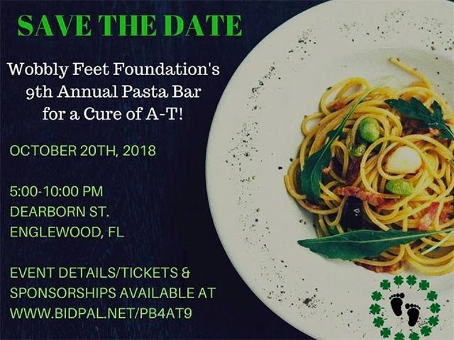 Pasta Bar for a Cure of A-T