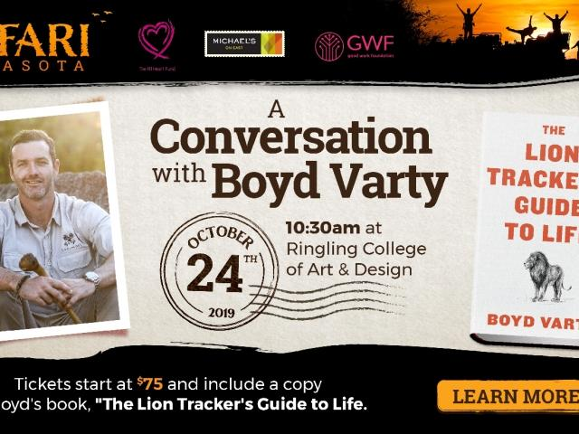 """""""A Conversation with Boyd Varty"""""""