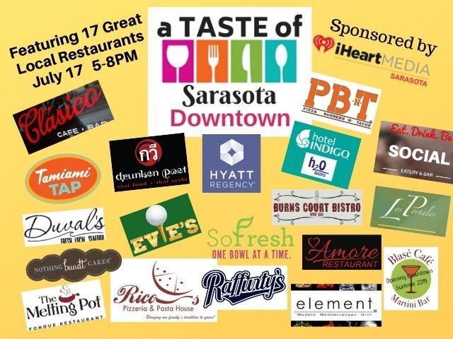 A Taste Of Sarasota Downtown