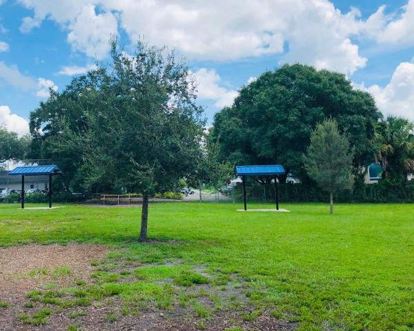 Arlington Dog Park - Let your dog run leash-free within our wide-open dog park! There is a separate small & large dog area.