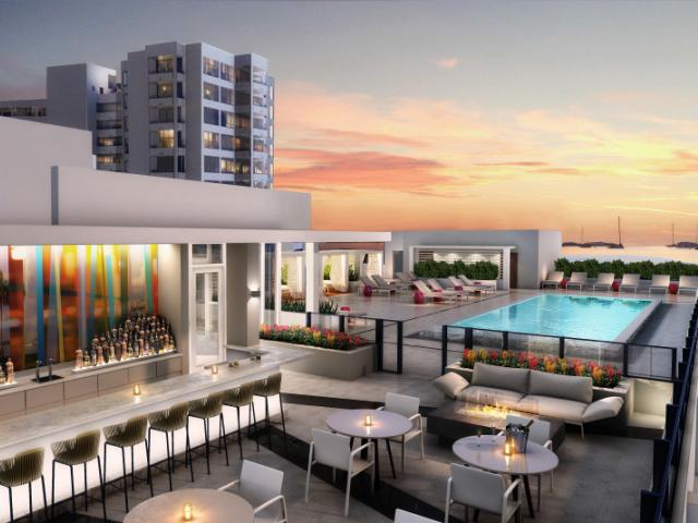 Perspective Rooftop Pool Bar - Sarasota's newest hot spot, Perspective Rooftop Pool Bar.