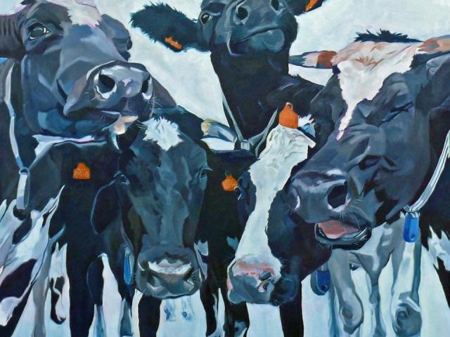 """The Herd"" by Evelyn McCorristin Peters"
