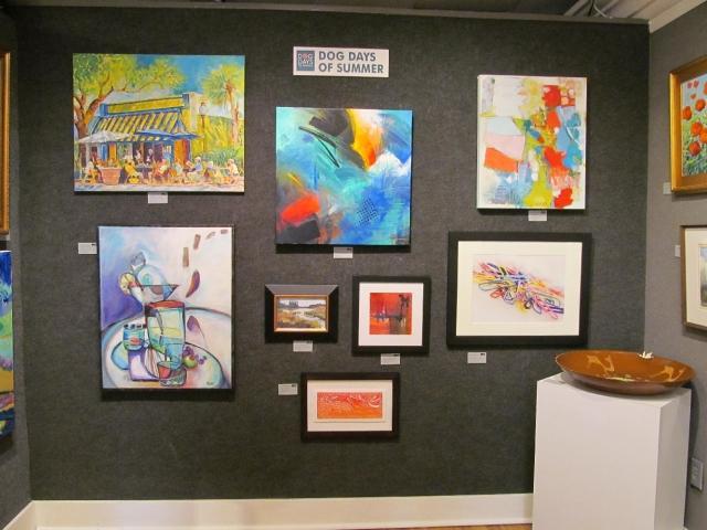 Art Uptown Gallery's 11th Annual Dog Days Juried Open Art Exhibit