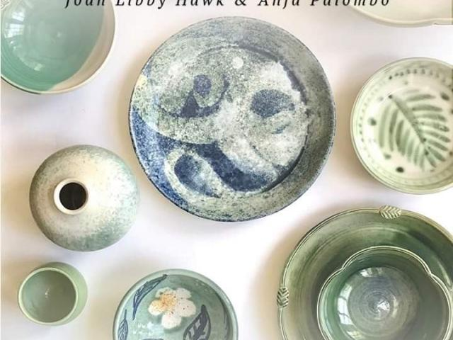 Autumn Open Studio at Sarasota Green Pottery welcomes the public to a working studio and showcases unique, handmade ceramics by artists Anja Palombo and Joan Libby Hawk. Come, Sunday, November 17, 1 - 5 pm, 2429 Burlington, Lane, Sarasota