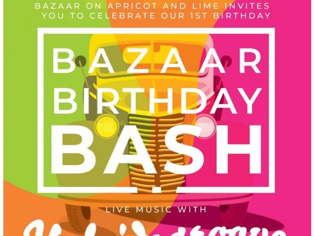 Bazaar Birthday Bash