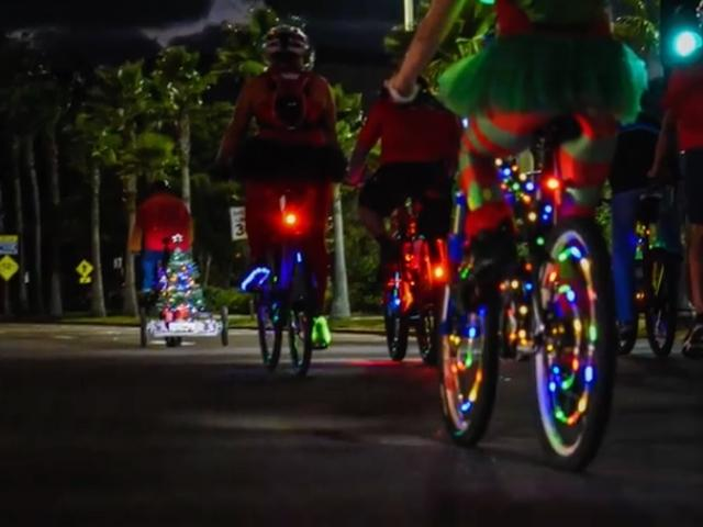 Bicycles International Glow Ride and 32 Year Celebration