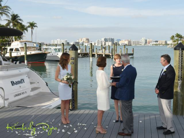 Intimate Ceremony - An intimate dockside ceremony or a grande ballroom entrance, whatever you fancy - BKYC will deliver.