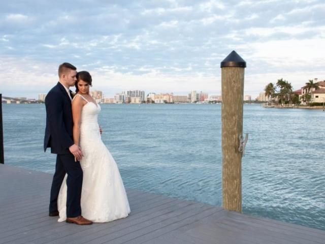 Wedding - With our beautiful cityscape as your backdrop, our new marina is the perfect location for impressive wedding photos.