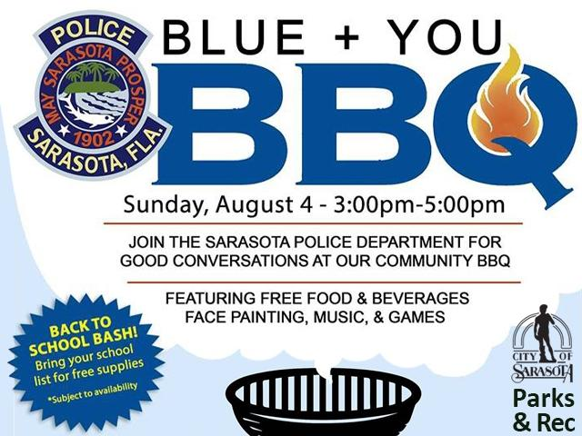 Blue + You Community BBQ