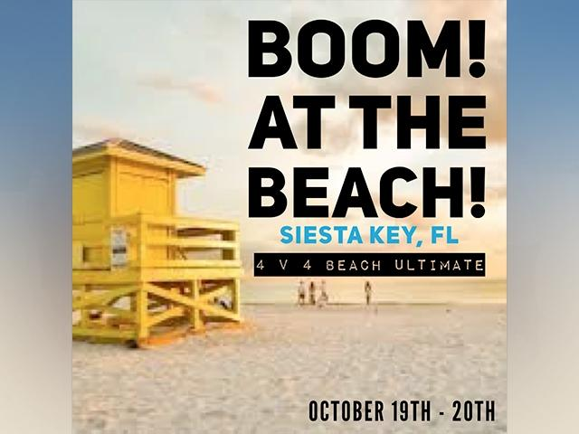 Boom! At the Beach: October 19-20, 2019