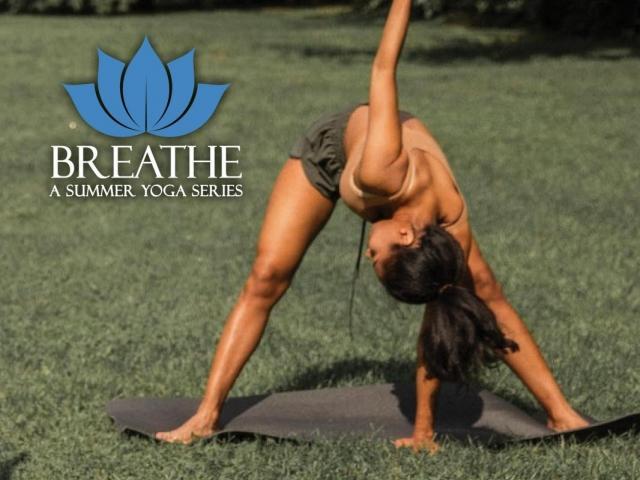 Breathe: A Summer Yoga Series - St. Armands Circle