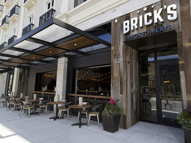 Brick's Smoked Meats on State Street, downtown Sarasota