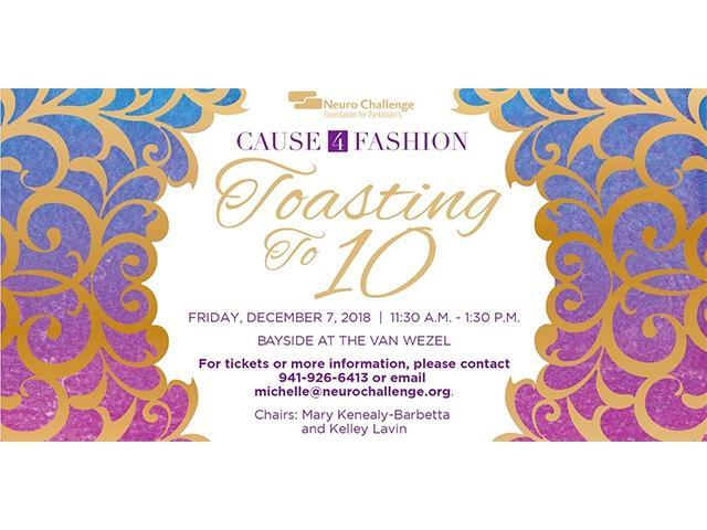 Cause 4 Fashion - Toasting to 10!