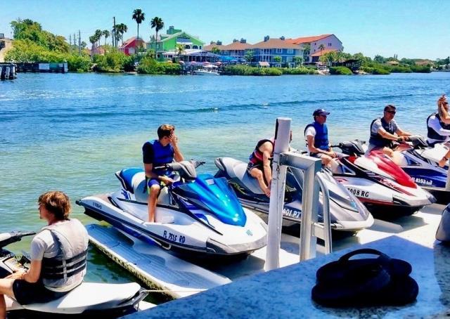 Siesta Key Jet Ski - Siesta Key Jet Ski's Yahama VX Waverunners