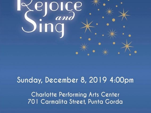 """Charlotte Chorale Christmas Concert """"Rejoice and Sing"""""""
