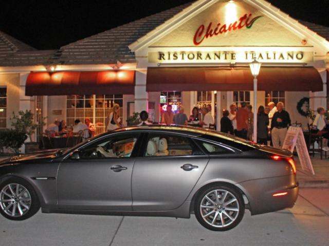 Italian Restaurant - Chianti is located on Clark Road near Beneva with abundant, easy parking.