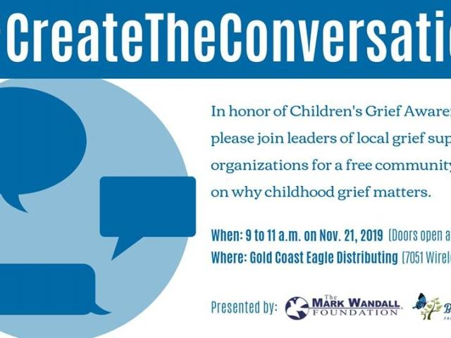 Join us for Children's Grief Awareness Day