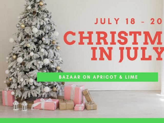 Christmas in July at The Bazaar