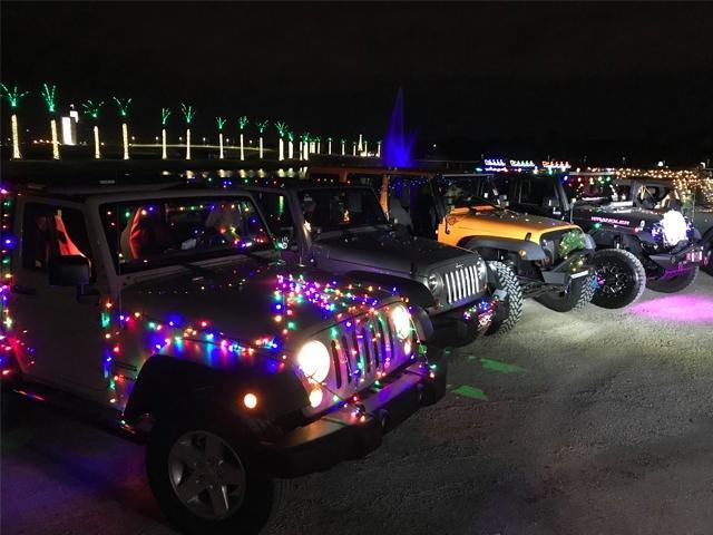 Christmas Jeep.Christmas Jeep Parade 2018 Visit Sarasota